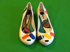 RARE Melissa + Julie Verhoeven Ultragirl Exclusive Jelly Shoes Brazil Size 8US