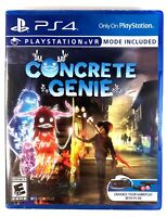 Concrete Genie PS4 BRAND NEW FACTORY SEALED Sony Playstation 4 PS 4 VR Optional