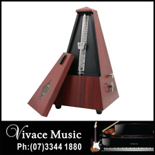 Mechanical Metronome with Audible Bell Chime for Piano Guitar Bass