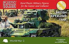 Plastic Soldier 1/72 British A9 Cruiser Tank # WW2V20023