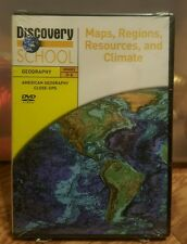 Discovery School Geography Grades 3-6 DVD Maps,Regions,Resources, and Climate