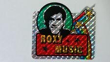 Roxy Music rock group British artist SMALL STICKER Vintage logo music