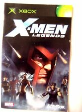 56702 instruction booklet-X-Men Legends-Microsoft Xbox (2004)