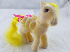 My Little Pony G1 ponies vintage so soft lofty
