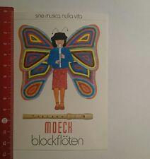 Aufkleber/Sticker: Moeck Blockflöten (111116143)