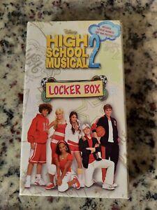 Disney's High School Musical 2 LOCKER BOX Includes Locker Magnets/ Mini Posters