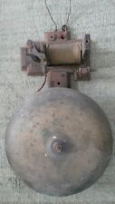 Rare Type Antique Fire Alarm Building Bell  -  Circa 1890s - 1910 Vintage Bell!