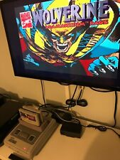 Wolverine Super Nintendo SNES Retro Game Very Rare