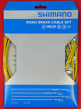 Shimano PTFE SIL-TEC Road Bike Brake Cable Housing Set  Yellow