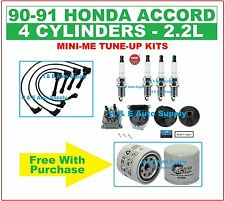 90-91 ACCORD Tune Up Kits: Spark Plugs Wire Set, Filter, Distributor Cap & Rotor