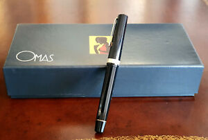 "Omas ""Extra"" Fountain Pen 14k EF Lucens Nib, Beautiful Condition"