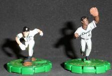 Vintage 2004 Wizkids SportsClix MLB Baseball Figures - Baldelli and Lee