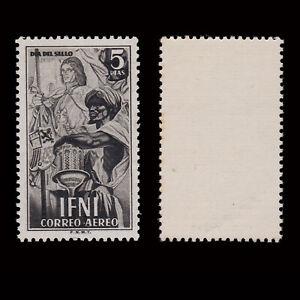 SELLO ESPAÑA.IFNI.1950.Día del Sello.5p.MNH.Edifil.71