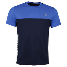 Lacoste Mens 2020 Ribbed Neck Ultra Dry Pique Crocodile T-Shirt 28% OFF RRP