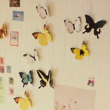 15PCS  Butterfly Three-dimensional Living Room TV Background Wall Sticker Set