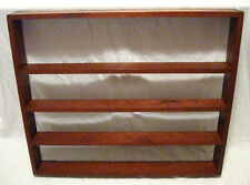 Beautiful 1940s Pine Wood Vintage Collectibles Shelf, Wall Mount, Exc! Cond!