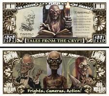 Les CONTES DE LA CRYPTE Billet MILLION DOLLAR US ! Série Horreur Fantastic Tales