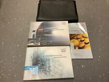 Audi RS6 Owners Handbook/Manual and Pack 01-05