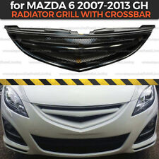 Radiator Grill with crossbar for Mazda 6 2007-2013 GH Body Kit Plastic
