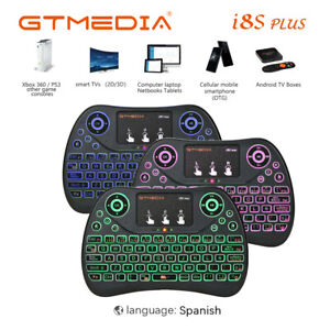 2.4G Mini teclado inalámbrico Air Mouse con teclado de control remoto para PC TV