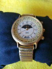 Vintage 1990 Timex Moonphase Perpetual Calendar Working