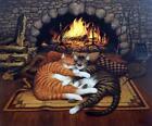 CHARLES WYSOCKI-S/N CAT print-ALL BURNED OUT
