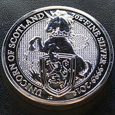 2018 Queen's Beast Unicorn of Scotland 2 oz .9999 Silver UK Coin Brexit