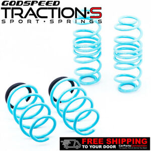 Godspeed Project Traction-S Lowering Springs For VOLKSWAGEN JETTA MK6 2012+UP
