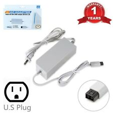 AC Wall Power Supply Adapter Charger Cable Cord for Nintendo Wii Console
