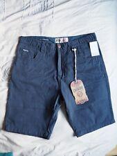 BNWT blue Tokyo Laundry shorts 100% cotton UK 38
