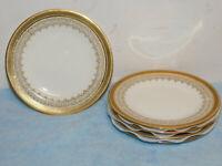"5 Vintage Cauldon English A. French & Co Boston Bread Plates 5 3/4"" Excel. Cond."