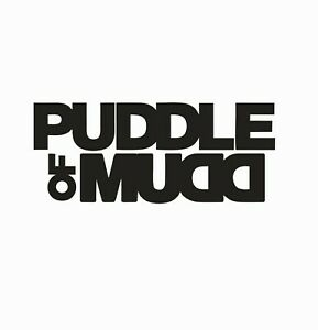 Puddle of Mudd Music Band Vinyl Die Cut Car Decal Sticker-FREE SHIPPING