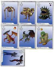 Final Fantasy 8 FF VIII Triple Triad Card Game G1-G55 ***CHOOSE ONE*** PS1 1999