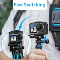 Double-Head J Hook Quick Release Base Adapter for Gopro Hero 8 DJI OSMO ACTION