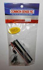 """Common Sense RC LED Light Bar 3.6"""" White Lights #LED-BAR-3W NIP"""