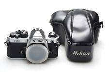 Nikon FM2-N Silver + Case - LIKE NEW