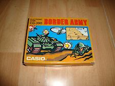 BORDER ARMY GAME & WATCH BY CASIO CG-390 NUEVA EN SU ORIGINAL CAJA