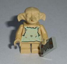 HARRY POTTER #52 Lego Dobby Elf w/sock TAN NEW Genuine Lego 4731 2nd issue