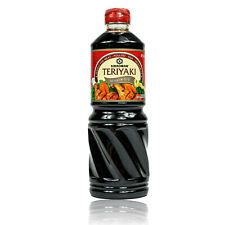 Kikkoman - Teriyaki Marinade und Sauce 975 ml Flasche - Original Teriyakisauce