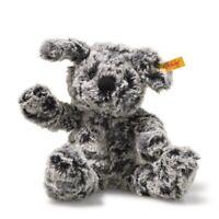 Steiff - Soft-n-Cuddly Taffy the Dog, Molted Grey - 11-inches (083648)