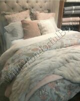 Pottery Barn Cosette Duvet Cover Blue King Palampore Floral New No Shams
