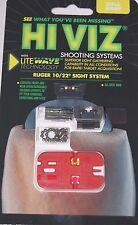 HiViz LiteWave Front & Rear Sight System Combo Pack for Ruger 10/22 - RG1022