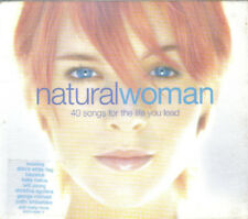 """""""Natural Woman""""- 40 Track 2CD-Dido-Kylie-Pink-Bangles-Aquilera-Corrs-Sade- NEW"""
