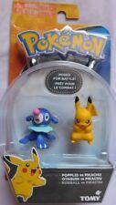 NEW Tomy Pokemon POPPLIO vs PIKACHU figures