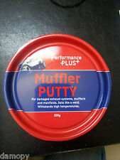 "POWER PLUS MUFFLER PUTTY FIX EXHAUST SYSTEMS ""SETS LIKE A WELD"" 200GM TUB PP277"