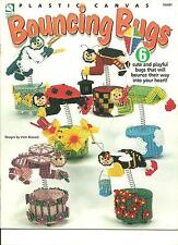 Bouncing Bugs in plastic canvas pattern booklet