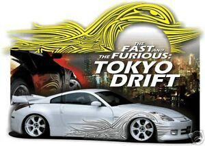 Adesivi  per auto tuning Fast and Furious Tokyo Drift