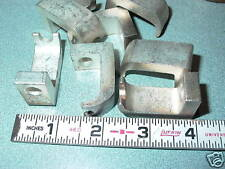 LOT OF EIGHT COPPER SILVER  ??  PLATED CONTACT