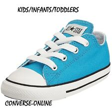 KIDS Babies Boy Girl CONVERSE All Star VIVID BLUE Trainers Shoes EU 20 UK SIZE 4