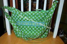 Vera Bradley Retired Rare Apple Green Spectator Bag